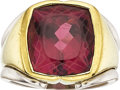 Estate Jewelry:Rings, Rubellite, Platinum, Gold Ring. ...