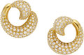 Estate Jewelry:Earrings, Diamond, Gold Earrings, Kurt Wayne. ...