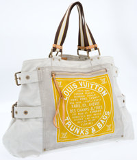 Louis Vuitton Yellow Globe Trotter Shopper Bag