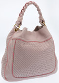 Luxury Accessories:Bags, Bottega Veneta Lavender & Pink Intrecciato Leather Hobo Bag....