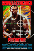 "Movie Posters:Science Fiction, Predator (20th Century Fox, 1987). One Sheet (27"" X 40"") Advance.Science Fiction.. ..."