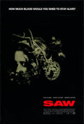 "Movie Posters:Horror, Saw (Lions Gate, 2004). One Sheet (27"" X 40"") DS. Horror.. ..."