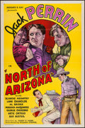 "Movie Posters:Western, North of Arizona (William Steiner, 1935). One Sheet (27"" X 41"") Flat Folded. Western.. ..."