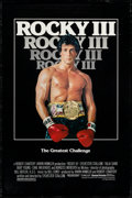 "Movie Posters:Sports, Rocky III & Others Lot (United Artists, 1982). One Sheets (3) (26.75"" X 39.75"", 27"" X 40"", & 27"" X 41"") SS & DS Advance. Spo... (Total: 3 Items)"