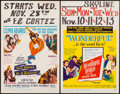 "Movie Posters:Adventure, Five Weeks in a Balloon & Others Lot (20th Century Fox, 1962).Window Cards (4) (14"" X 22""). Adventure.. ... (Total: 4 Items)"