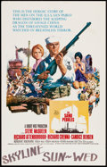 "Movie Posters:War, The Sand Pebbles (20th Century Fox, 1966). Window Card (14"" X 22""). War.. ..."