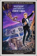 "Movie Posters:James Bond, A View to a Kill (MGM, 1985). One Sheet (27"" X 41"") Advance. JamesBond.. ..."