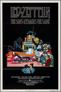 """The Song Remains the Same (Warner Brothers, 1976). One Sheet (27"""" X 41""""). Rock and Roll"""