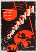 "Movie Posters:Musical, Syncopation (RKO, 1952). Swedish One Sheet (27.5"" X 39""). Musical....."