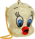 Luxury Accessories:Bags, Kathrine Baumann Limited Edition Full Bead Yellow & Red CrystalTweety Bird Minaudiere Evening Bag . Very Good toExcellen...