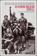 """Movie Posters:War, Hamburger Hill & Others Lot (Paramount, 1987). One Sheets (2)(26.75"""" X 40.75"""" & 27"""" X 40"""") SS & DS and Canadian VideoPoste... (Total: 3 Items)"""