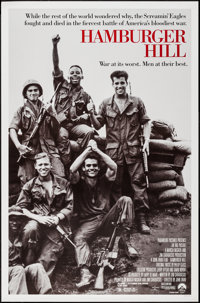 "Hamburger Hill & Others Lot (Paramount, 1987). One Sheets (2) (26.75"" X 40.75"" & 27"" X 40..."