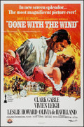 """Movie Posters:Academy Award Winners, Gone with the Wind (MGM, R-1989). One Sheet (27"""" X 41""""). Academy Award Winners.. ..."""