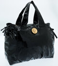 Luxury Accessories:Bags, Gucci Black Patent Leather Hysteria Tote Bag. ...