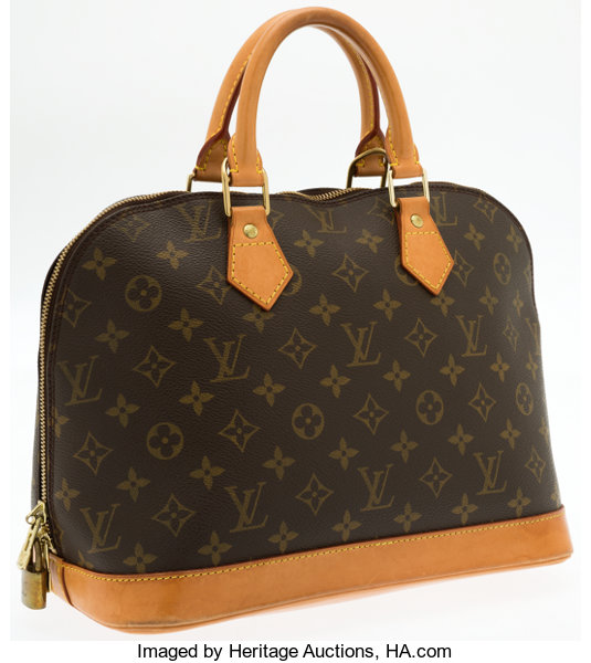 976c2ac1b180 Louis Vuitton Classic Monogram Canvas Alma MM Bag. ... Luxury