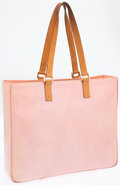 Luxury Accessories:Bags, Louis Vuitton Pink Monogram Vernis Leather Columbus Tote Bag. ...