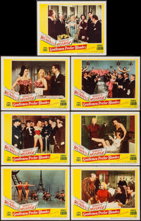 "Gentlemen Prefer Blondes (20th Century Fox, 1953). Lobby Cards (7) (11"" X 14""). Musical. ... (Total: 7 Items)"