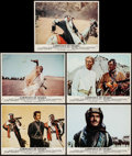 "Movie Posters:Academy Award Winners, Lawrence of Arabia (Columbia, R-1971). International Color Photos(5) (9"" X 11.25""). Academy Award Winners.. ... (Total: 5 Items)"