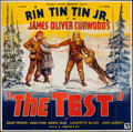 "Movie Posters:Adventure, The Test (Reliable, 1935). Six Sheet (78"" X 80""). Adventure.. ..."