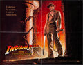 "Movie Posters:Adventure, Indiana Jones and the Temple of Doom (Paramount, 1984). Half Sheet(22"" X 28""). Adventure.. ..."