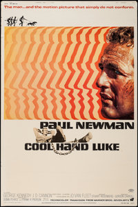 "Cool Hand Luke (Warner Brothers, 1967). Poster (40"" X 60""). Drama"