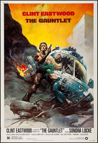 """The Gauntlet (Warner Brothers, 1977). Poster (40"""" X 60""""). Action"""