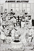 Original Comic Art:Splash Pages, John Romita Sr. Fantastic Four #358 Splash Page 74 OriginalArt (Marvel, 1991)....