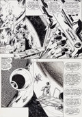 "Original Comic Art:Panel Pages, John Byrne and Terry Austin Epic Illustrated #29 ""The Last Galactus Story"" Page 6 Original Art (Marvel/Epic, 1985)..."