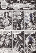 Original Comic Art:Panel Pages, Jim Starlin Warlock #15 Page 10 Original Art (Marvel,1976)....