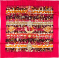 "Luxury Accessories:Accessories, Hermes 90cm Pink ""Rives Fertiles,"" by Christine Henry Silk Scarf.Pristine Condition. 36"" Width x 36"" Length. ..."