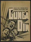 "Movie Posters:Action, Gunga Din (RKO, 1939). Herald (8.5"" X 11.5""). Action. ..."
