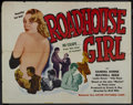 """Movie Posters:Crime, Roadhouse Girl (Astor Pictures, 1953). Half Sheet (22"""" X 28""""). Crime. ..."""