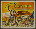 "Movie Posters:Adventure, The Warrior and the Slave Girl (Columbia, 1959). Half Sheet (22"" X28"") Style A. Adventure. ..."