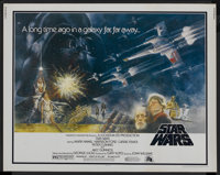 "Star Wars (20th Century Fox, 1977). Half Sheet (22"" X 28""). Science Fiction"