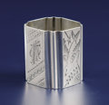 Silver Holloware, American:Napkin Rings, An American Silver Napkin Ring. George W. Shiebler & Co., NewYork, New York. Circa 1870-1880. Silver. Marks: (winged S), ...