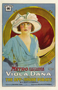 "Movie Posters:Romance, The Off-Shore Pirate (Metro, 1921). One Sheet (27"" X 41""). ..."