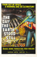 "Movie Posters:Science Fiction, The Day the Earth Stood Still (20th Century Fox, 1951). One Sheet(27"" X 41""). ..."