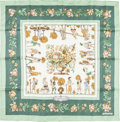 "Luxury Accessories:Accessories, Hermes 90cm Green ""Les Jardiniers du Roy,"" by Maurice TranchantSilk Scarf . Excellent Condition . 36"" Width x 36""Len..."
