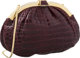 "Judith Leiber Bordeaux Crocodile Evening Bag Very Good Condition 11"" Width x 7.5"" Height x 1"" Depth CITES..."
