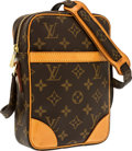 "Luxury Accessories:Bags, Louis Vuitton Classic Monogram Canvas Danube Bag. ExcellentCondition. 6"" Width x 8"" Height x 2"" Depth. ..."