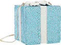 Luxury Accessories:Bags, Kathrine Baumann Limited Edition Full Bead Blue & White CrystalTiffany & Co. Present Minaudiere Evening Bag, 2/500 .Very...