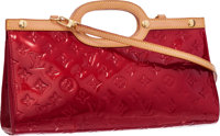 Louis Vuitton Pomme D'Amour Monogram Vernis Roxburry Drive Bag Very Good to Excellent Condition <