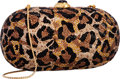 "Luxury Accessories:Bags, Judith Leiber Full Bead Leopard Print Crystal Oval MinaudiereEvening Bag . Excellent Condition . 7"" Width x 4""Height..."