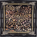"Luxury Accessories:Accessories, Hermes 90cm Black ""Libres Comme l'Air,"" By Annie Faivre Silk Scarf.Pristine Condition. 36"" Width x 36"" Length. ..."