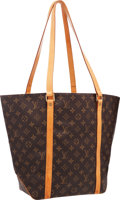 "Luxury Accessories:Bags, Louis Vuitton Classic Monogram Canvas Sac Shopping Tote Bag.Good Condition . 16.5"" Width x 13.5"" Height x 5.5""Depth..."