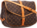 "Luxury Accessories:Bags, Louis Vuitton Classic Monogram Canvas Saumur GM Bag. GoodCondition . 13"" Width x 10"" Height x 8"" Depth. ..."