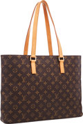 "Luxury Accessories:Bags, Louis Vuitton Classic Monogram Canvas Luco Tote Bag. Good toVery Good Condition . 18.5"" Width x 11.5"" Height x 4""Dep..."