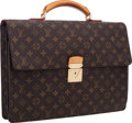 "Luxury Accessories:Bags, Louis Vuitton Classic Monogram Canvas Laguito Briefcase . VeryGood Condition . 15.5"" Width x 11"" Height 3"" Depth . ..."