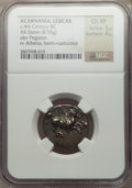 Ancients:Greek, Ancients: ACARNANIA. Leucas. Ca. 435-380 BC. AR stater (8.55gm)....