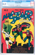 Golden Age (1938-1955):Superhero, All Star Comics #2 (DC, 1940) CGC VF 8.0 Cream to off-white pages....